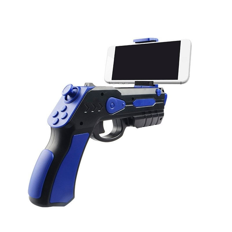 Pistola Bluetooth Gaming Omega OGVRAR Negro / Azul