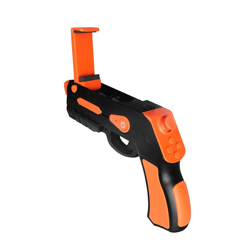 Pistola Bluetooth Gaming Omega OGVRAR Negro / Naranja