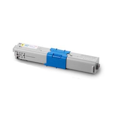 OKI C301 / C321DN Y Toner Compatible Amarillo