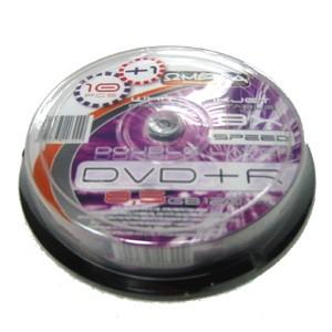 DVD+R Doble Capa 8X Omega FF Printable Tarrina 10 uds +1 Gratis