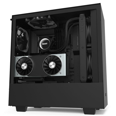 Caja PC ATX NZXT H510i Led RGB Negro Mate