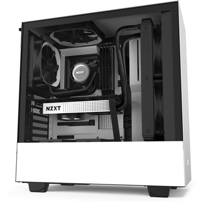 Caja PC ATX NZXT H510 Blanco Mate