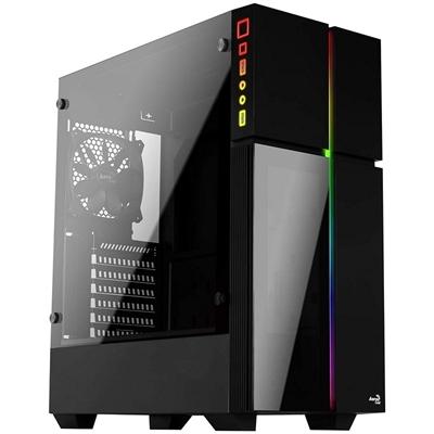 Caja PC ATX Aerocool Playa XL Cristal Templado y RGB
