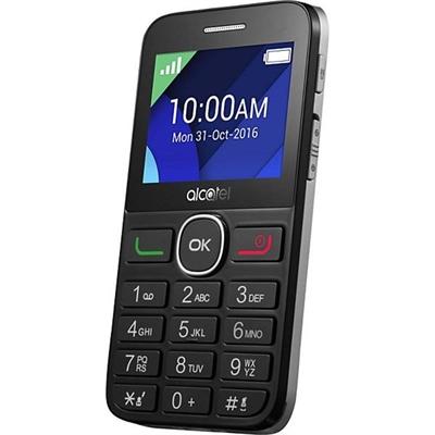 Alcatel 2008G Telefono Movil 2.4 QQVGA BT Plata