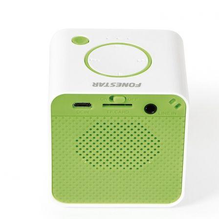 Altavoz Portátil Bluetooth Fonestar RU-33V Verde