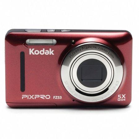 Cámara Digital Kodak Pixpro FZ53 Roja - 16MPX