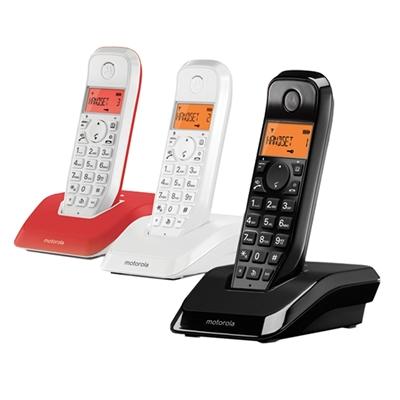 MOTOROLA S1203 Telefono DECT TRIO Colores