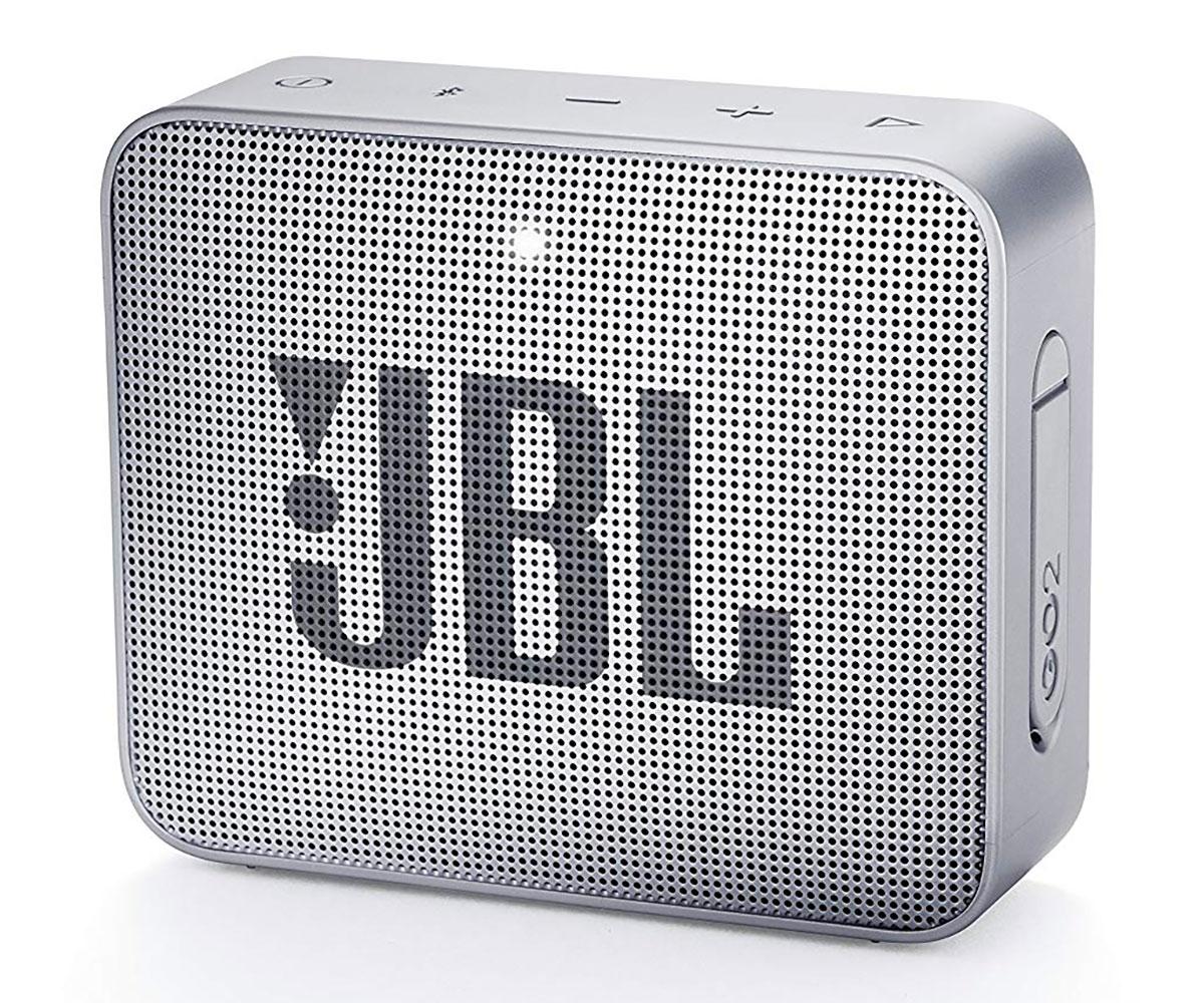 JBL GO2 GRIS ALTAVOZ INALÁMBRICO PORTÁTIL 3W RMS BLUETOOTH AUX MICRÓFONO MANOS L