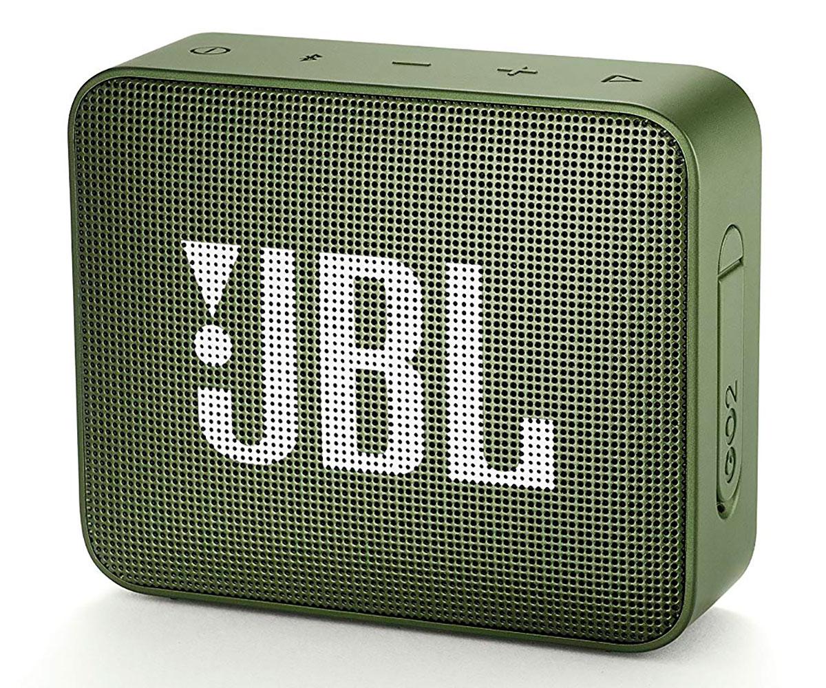 JBL GO2 VERDE ALTAVOZ INALÁMBRICO PORTÁTIL 3W RMS BLUETOOTH AUX MICRÓFONO MANOS
