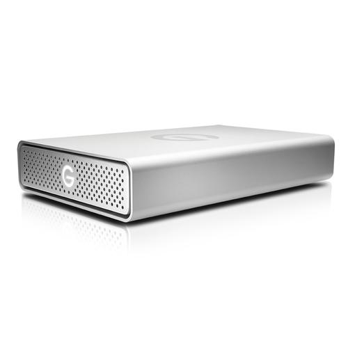 DISCO DURO EXTERNO / G-TECHNOLOGY G-DRIVE USB / 8 TB / PLATA