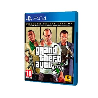 JUEGO SONY PS4 GRAND THEFT AUTO V PREMIUM EDITION