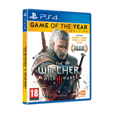 PS4 Juego THEWITCHER3:WILDHUNT GOTY