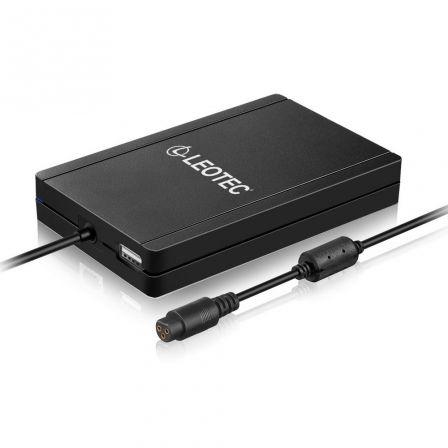 CARGADOR AUTOMÁTICO NOTEBOOK LEOTEC LENCSHOME11 - 90W - USB - 12 CONECTORES - SL