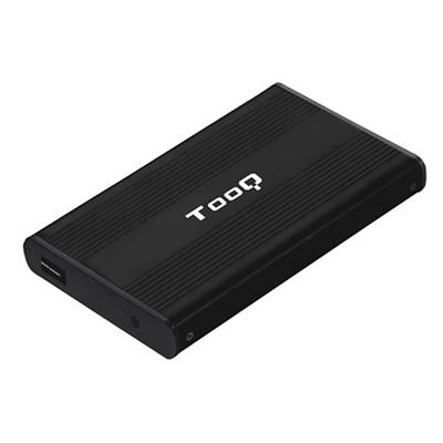 TooQ TQE-2510B caja HD 2.5 SATA USB 2.0 negra