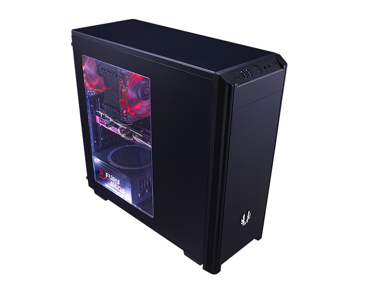 Caja PC Semitorre ATX Bitfenix Nova Black + Window