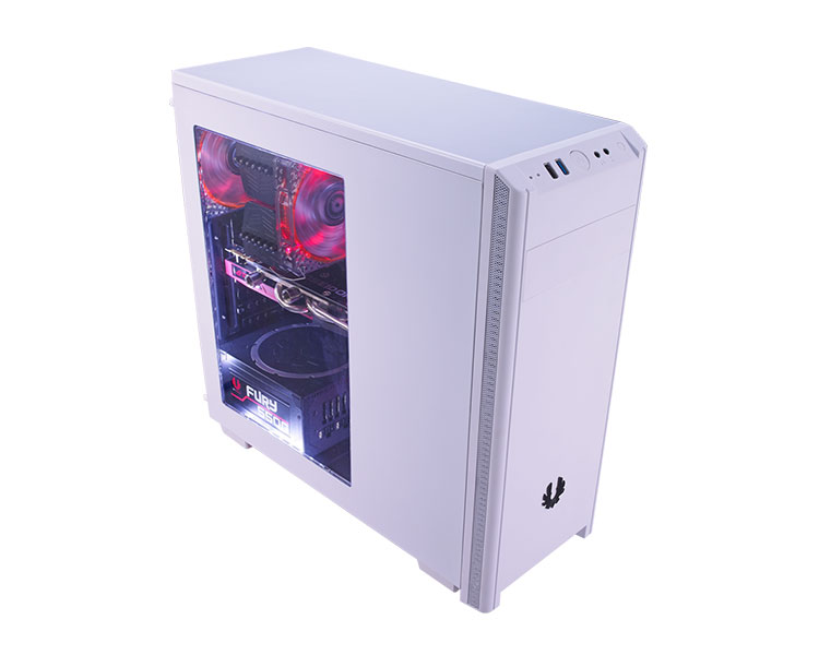 Caja PC Semitorre ATX Bitfenix Nova White + Window