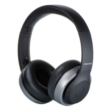 Auriculares Bluetooth Fonestar Harmony Negro / Gris