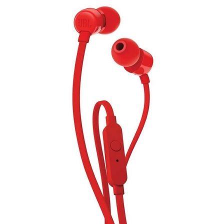 Auriculares JBL T110 Rojo