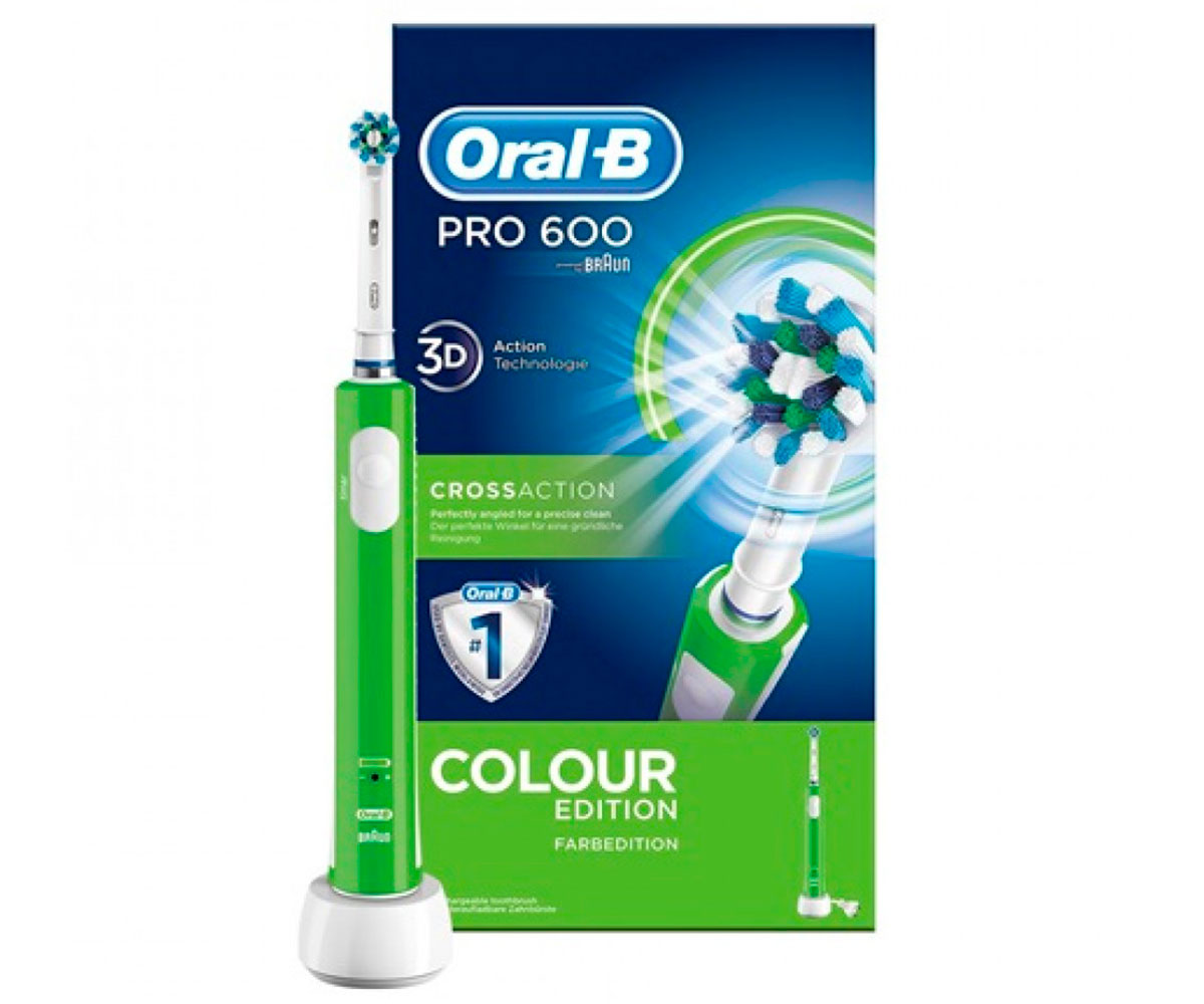 Cepillo Dental Braun Oral-B Pro 600 Verde