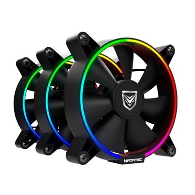 Ventilador para Caja Nfortec Oberon RGB (3 uds)