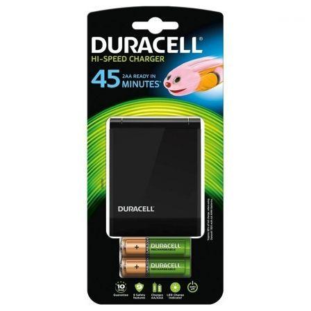 Cargador de Pilas Duracell CEF27EU-EU - Compatible con AA/AAA