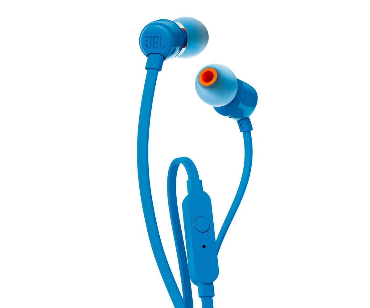 Auriculares JBL T110 Azul