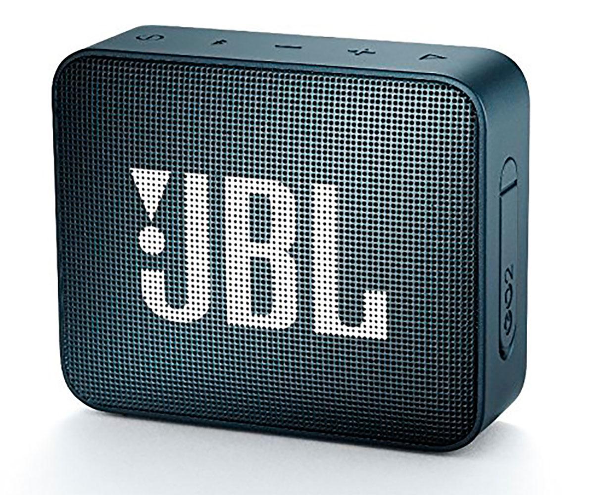 JBL GO2 NAVY ALTAVOZ INALÁMBRICO PORTÁTIL 3W RMS BLUETOOTH AUX MICRÓFONO MANOS L