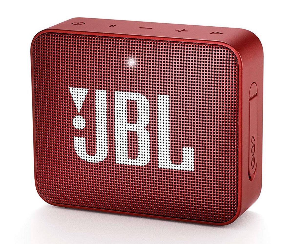 JBL GO2 ROJO ALTAVOZ INALÁMBRICO PORTÁTIL 3W RMS BLUETOOTH AUX MICRÓFONO MANOS L