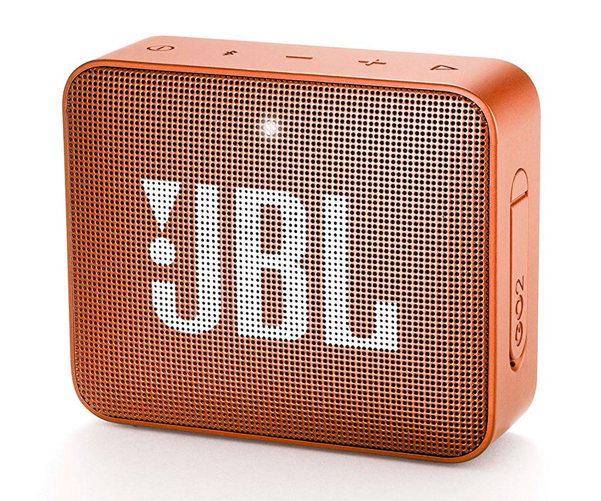 JBL GO2 NARANJA ALTAVOZ INALÁMBRICO PORTÁTIL 3W RMS BLUETOOTH AUX MICRÓFONO MANO