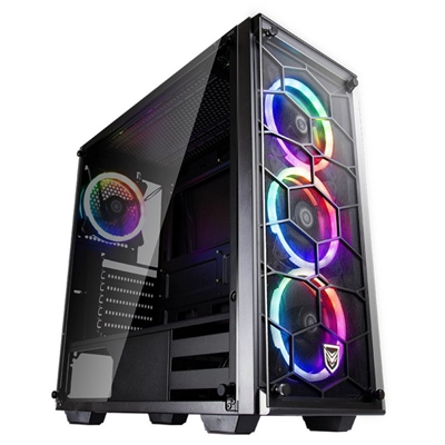Nfortec Caja PC Draco V2 Gaming RGB