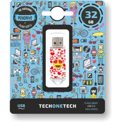 Pendrive 32GB Tech1Tech TEC4502-32 Eart-Eyes
