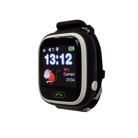 SmartWatch Infantil Leotec Kids Way Negro