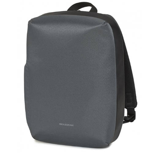 MOCHILA NOTEBOOK BACKPACK 15 GRIS MOLESKINE