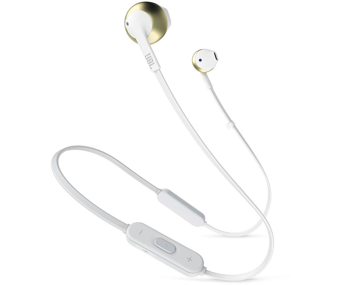 Auriculares Bluetooth JBL Tune 205BT Blanco