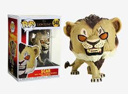 Funko pop disney el rey leon live scar