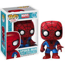 Funko pop bobble marvel spider - man