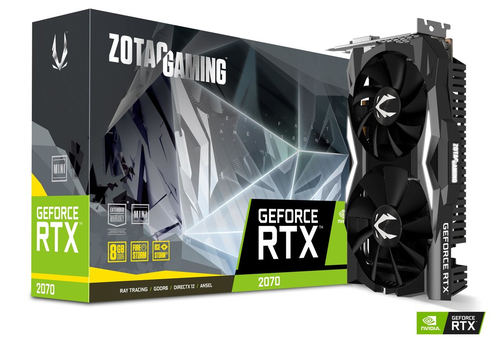 VGA ZOTAC RTX 2070 8GB GDDR6 Mini Twin Fan