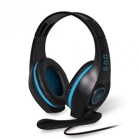 AURICULARES CON MICRÓFONO SPIRIT OF GAMER PRO-H5 BLUE EDITION - DRIVERS 40MM - C