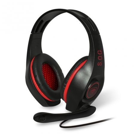 AURICULARES CON MICRÓFONO SPIRIT OF GAMER PRO-H5 - DRIVERS 40MM - CONECTOR 2XJAC