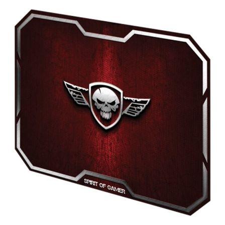 ALFOMBRILLA SPIRIT OF GAMER RED WINGED SKULL M - 29.6*23.6CM - TEXTURA ULTRAFINA
