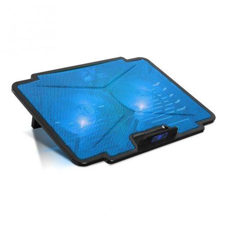 SOPORTE REFRIGERADOR SPIRIT OF GAMER AIRBLADE 100 BLUE - PARA PORTÁTILES HASTA 1