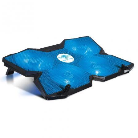 SOPORTE REFRIGERADOR SPIRIT OF GAMER AIRBLADE 500 BLUE - PARA PORTÁTILES HASTA 1