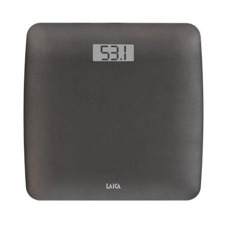 BÁSCULA DE BAÑO LAICA PS1043G - DISPLAY LCD 7.3*3CM - PESO MÁXIMO 180KG - DIVISI