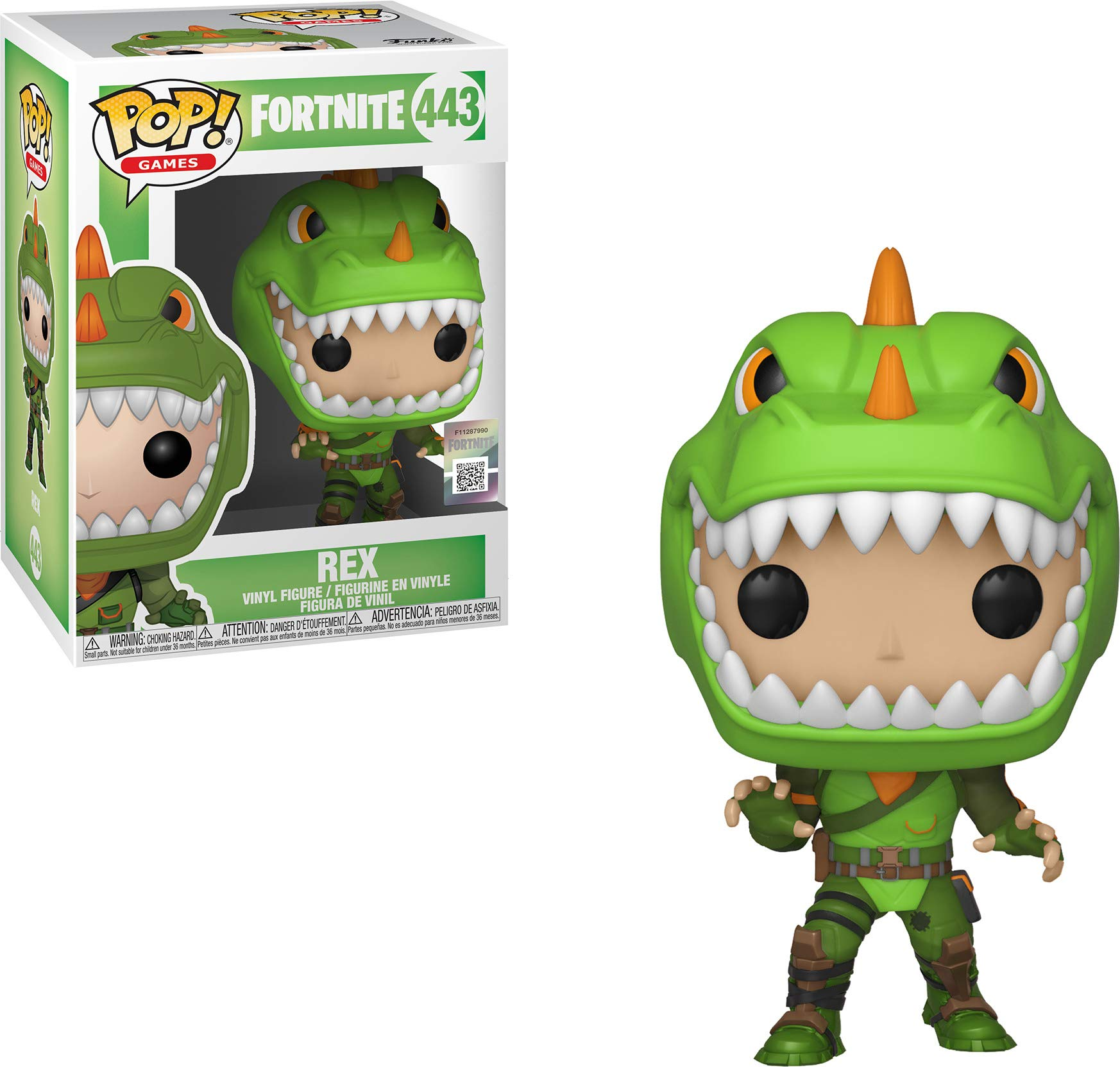 Funko pop fortnite rex