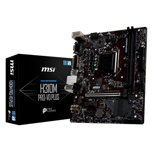 PLACA MSI H310M PRO-VD PLUS,INTEL,1151,H310,MATX