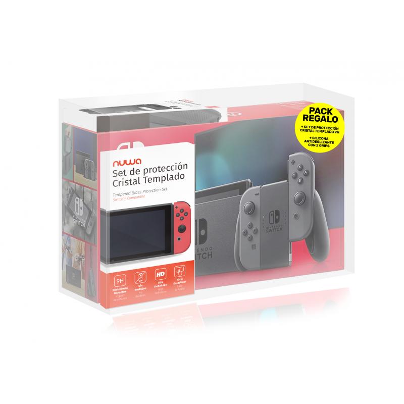 Nintendo Switch Gris - V2 + Protector