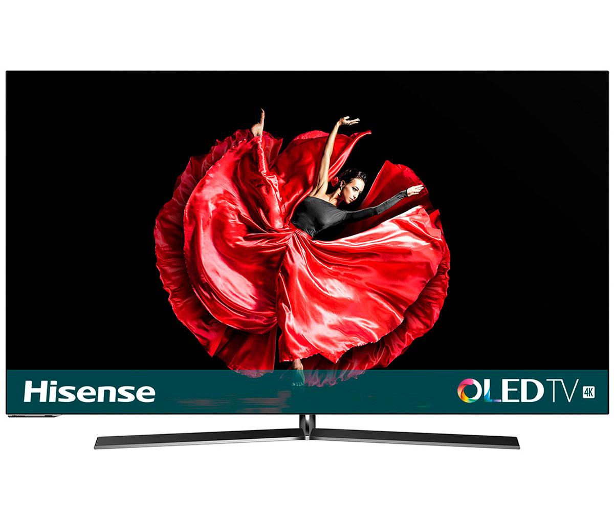 HISENSE H55O8B TELEVISOR 55 OLED UHD 4K 3400Hz DOLBY VISION SMART TV WIFI CI+ HD