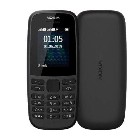 TELÉFONO MÓVIL NOKIA 105 4TH EDITION NEGRO - PANTALLA 1.8/4.57CM QVGA - 3G - 4MB