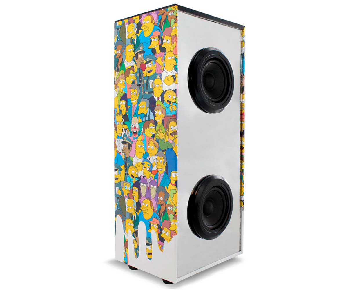 METRONIC 477482 SIMPSONS ALTAVOZ INALÁMBRICO LUMINOSO BATERÍA 8h BLUETOOTH MP3 S
