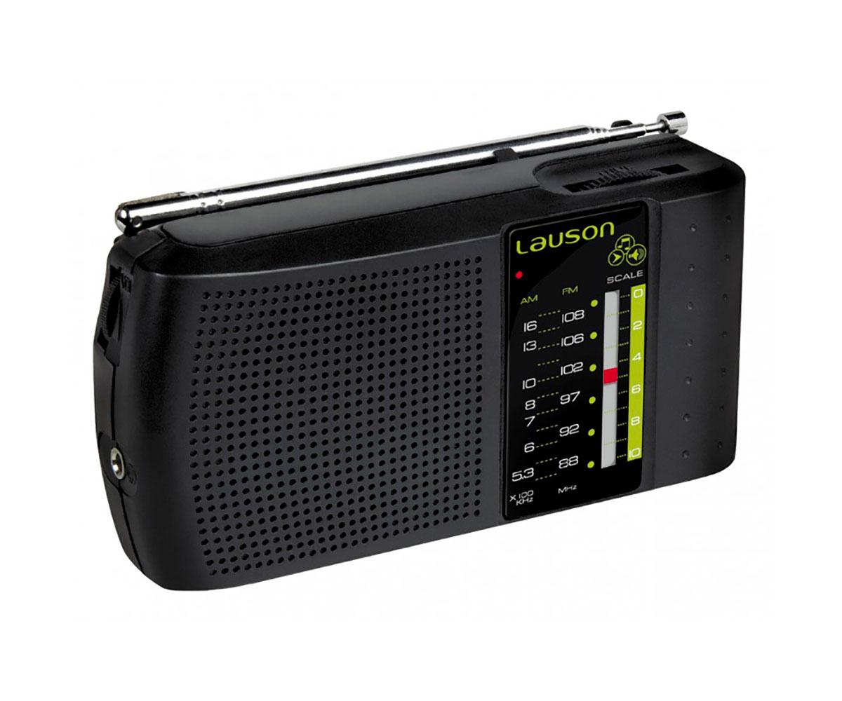 LAUSON RA124 RADIO PORTÁTIL FM/AM SINTONIZADOR ANALÓGICO ALTAVOZ INTEGRADO Y ENT